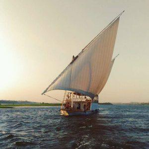 Dahabiya Nile cruise, Nile sailing boat, sailing Nile cruise