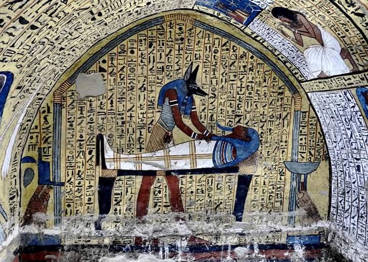kings valley luxor egypt