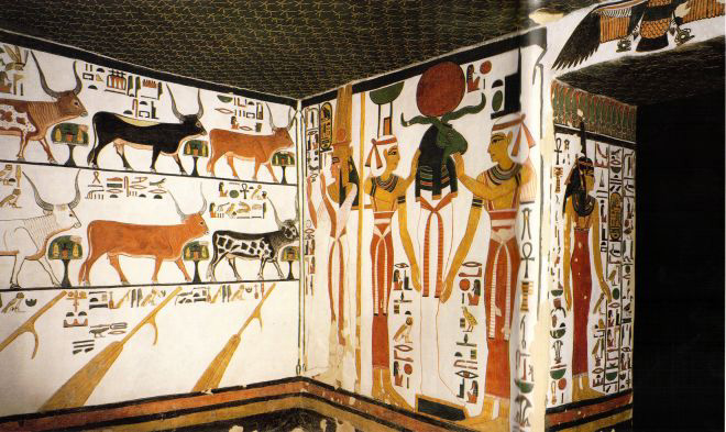 Nefertari , Nefertari tomb , QV66 , Queens valley